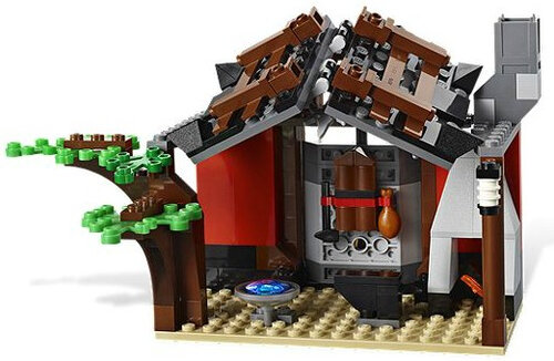 Lego Blacksmith Shop #3