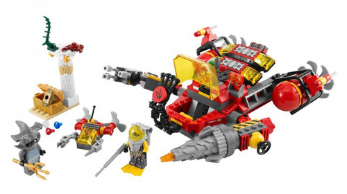 Lego Deep Sea Raider #6
