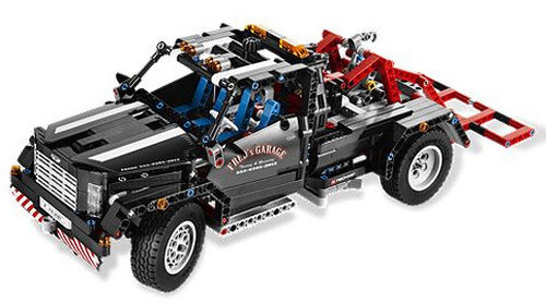 Lego Pick-up Tow Truck #2