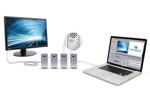 LaCie Little Big Disk Thunderbolt - 3