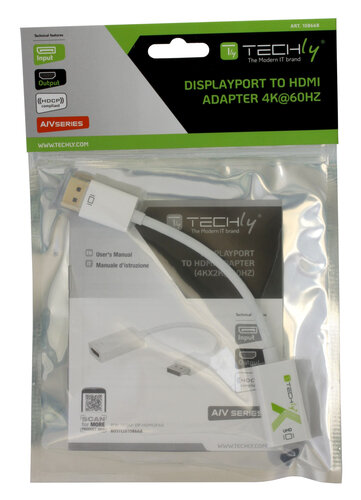 Techly IADAP DP-HDMI2F60 #2