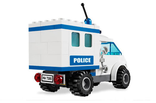 Lego Police Dog Unit #4