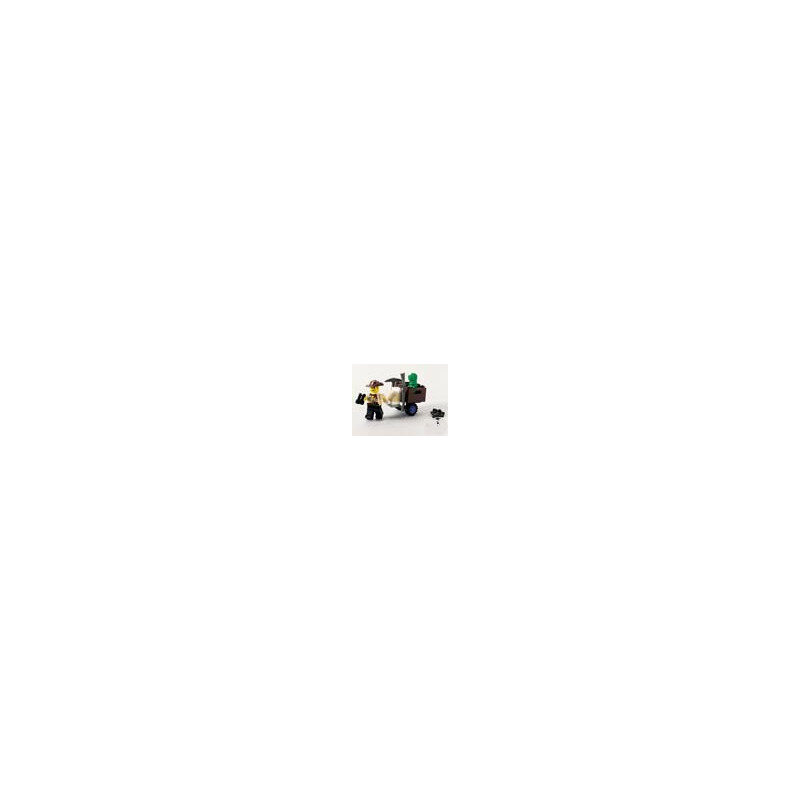 Lego JOHNNY THUNDER & BABY T #1