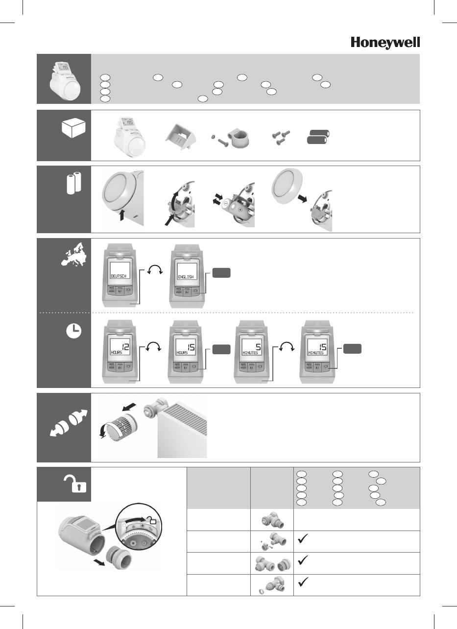 Termostato Honeywell Amazon Es Manual Guide