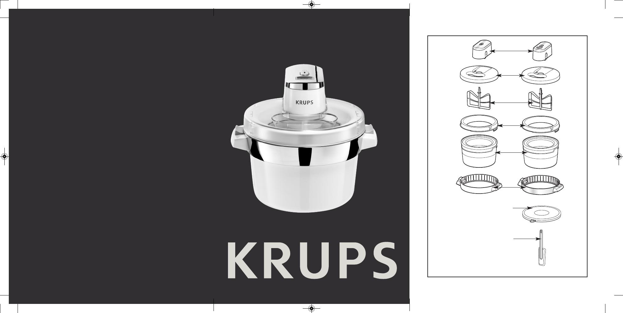 Moderne 📖 Manual Krups GVS1 (138 sider) LC-13